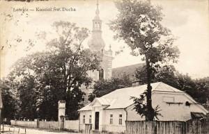 Łowicz Kościół św. Ducha 1913