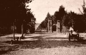 Brama cmentarza ze zbiorów Archiwum Państwowego m.st. Warszawy2