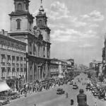 Św Krzyż, Krakowskie_Przedmieście_w_Warszawie_przed_1939