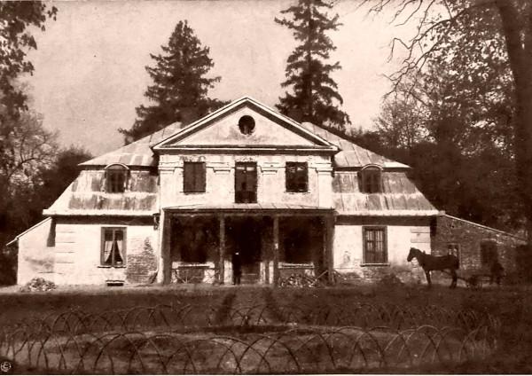 Dworek w Lipkowie 1900 ra