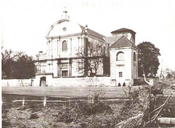 kościół w Babicach przed 1923 ra