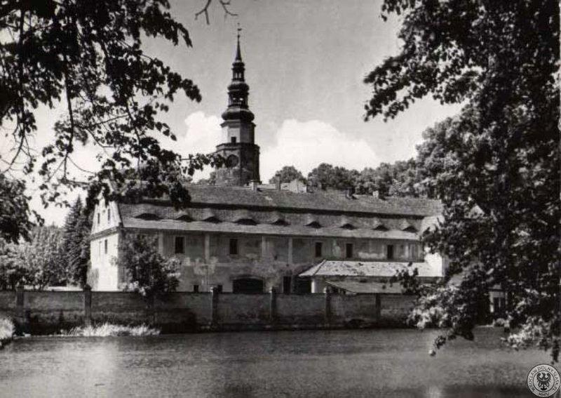 owiesno zamek lata 60-te