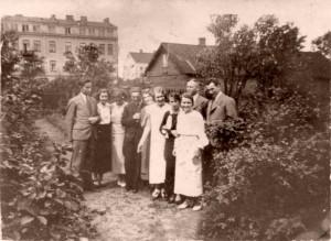 Pelcowizna, ogród przy Kartuskiej
